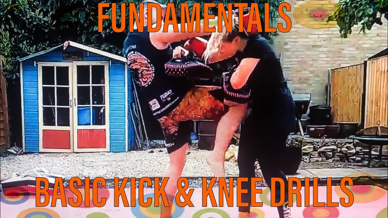 2 Minutes basic Kick and Knee Drill