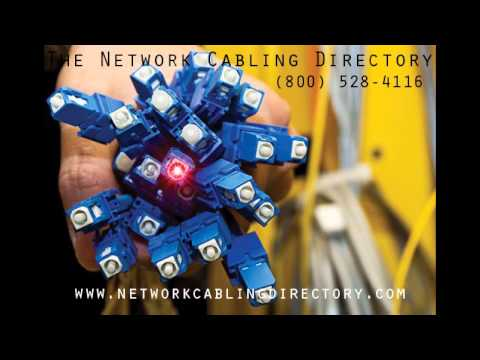 Network Cabling & Fiber Optic Cable Installations- Low Voltage Cabling