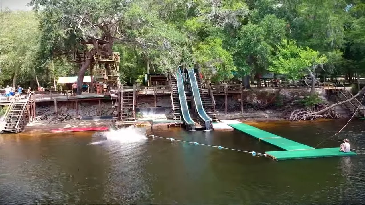 2019 Sea-Doo GTX Limited found old water park on Suwannee River