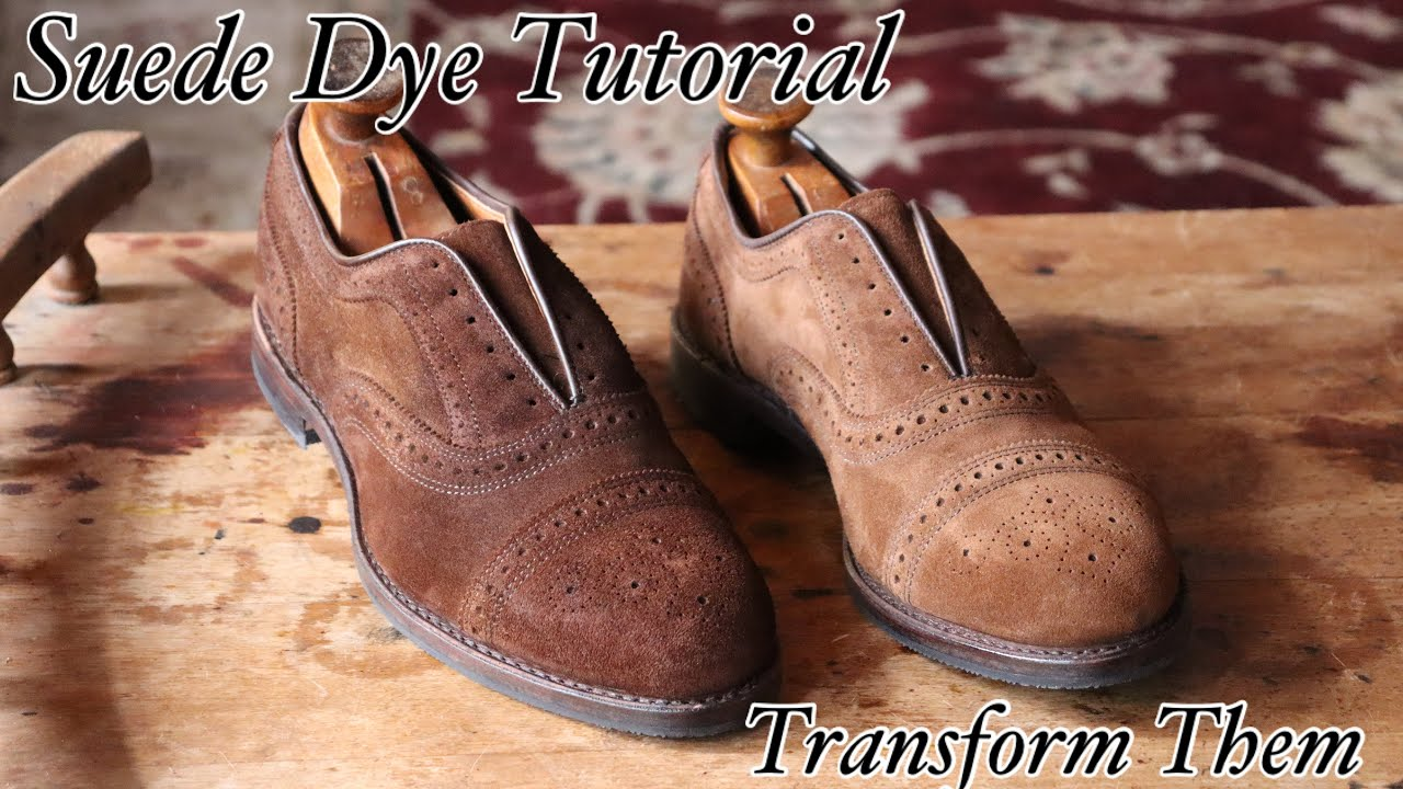 HOW TO DYE SUEDE SHOES: DIY TUTORIAL