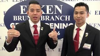 DCM Amer DCM Amer & CCM Amirul ELKEN Brunei Opening 3 April 16