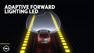 Opel Features: Adaptive Forward Lighting LED Headlights (AFL)