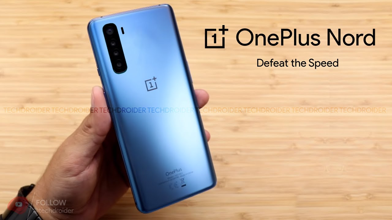 OnePlus Nord - FIRST LOOK - YouTube