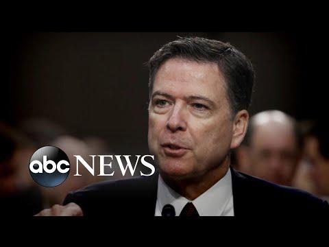In new book, former FBI director likens President Donald Trump to a mafia boss