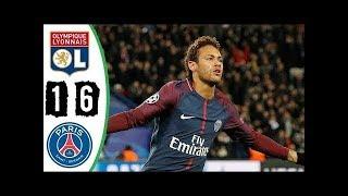 ►lyon vs psg 1-6 - all goals & highlights - résumé ligue 1 (last 2 matches) hd◄