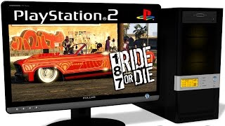 PCSX2 1.5.0 PS2 Emulator - 187 Ride or Die (2005). Gameplay. Test run on PC #1