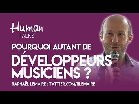 Pourquoi autant de développeurs musiciens ? par Raphaël Lemaire