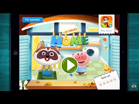 🍭 Dr. Panda's Home - Household Game App for Kids & Toddler - iPhone/iPad/Android