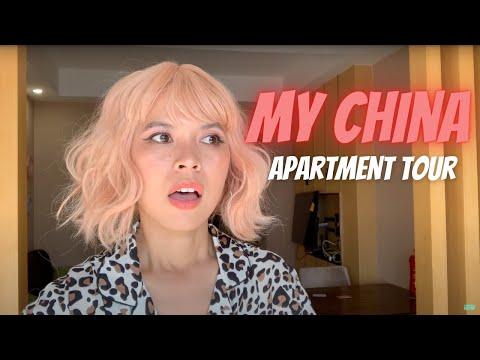 LIVING IN CHINA | My China Apartment Tour 🇨🇳 [GUANGZHOU]