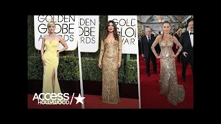 2017 Golden Globes Fashion Roundup