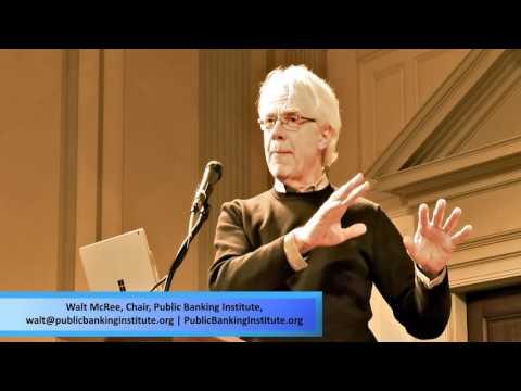 Walt McRee - Local municipal public banking advocate