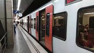 FGC - Rubí linea S7 Via 1 Barcelona - Terrassa