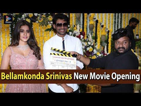 Bellamkonda Sreenivas New Movie Opening Video | Nabha Natesh | Santosh Srinivas | Telugu Full Screen