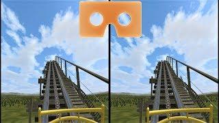 VR 3D video Roller Coaster 12 Американские Горки для VR очков 3D SBS VR box