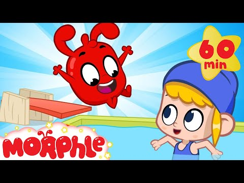 Mila and Morphle Make a Pool in the Backyard + More Cartoon Adventures for Kids | Sandaroo Kids