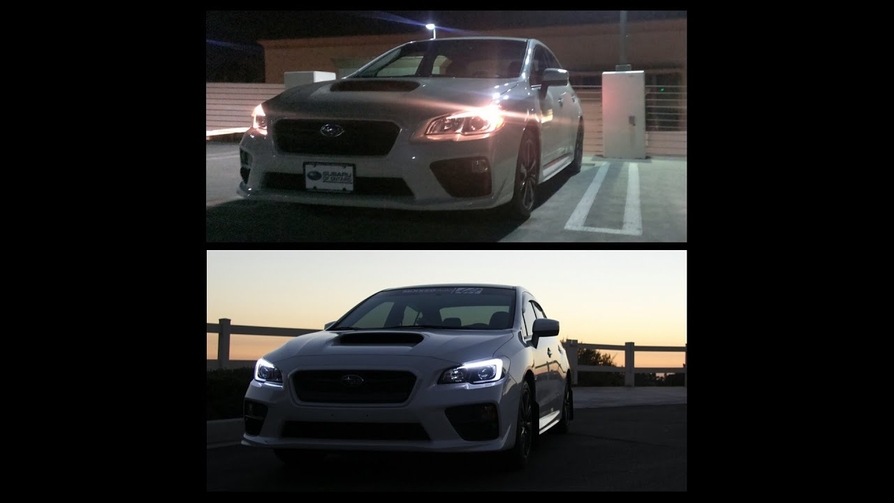 2015 Subaru Wrx Headlight Mod How To Youtube