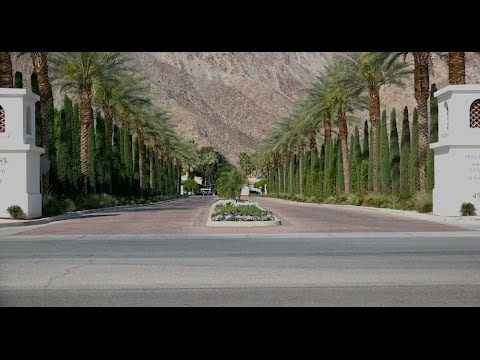Royalty Free Stock Footage - Resort In Palm Springs California