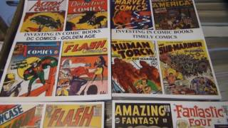 Investing In Comic Books long term making money with comics Gold Silver Bronze