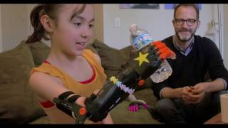 Custom Made: IU lecturer builds 3-D arm for local girl