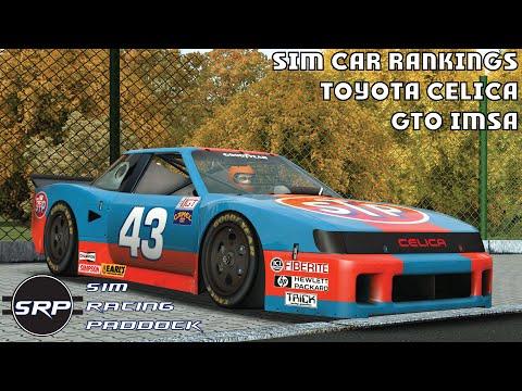 Sim Car Rankings - rFactor 2 Toyota Celica GTO IMSA - YouTube
