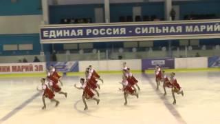 Чемпионат России по синхронному катанию  1 спортивный разряд  ПП 13 Юность