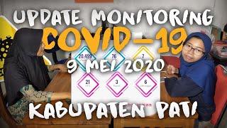 ADA YANG BARU NIHH!! TAMPILAN PETA SEBARAN COVID-19 PATI (9 MEI 2020)