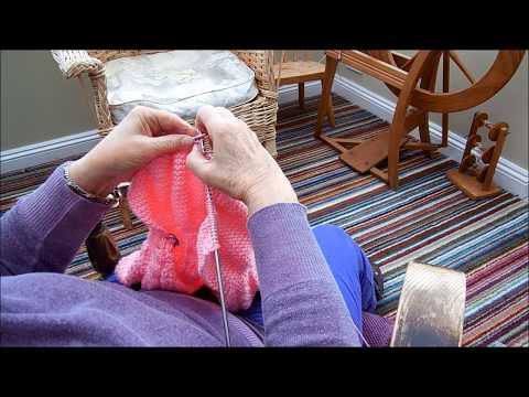 Knitting Much Faster English Method