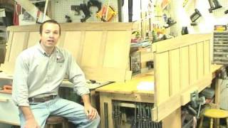 Part 2 - Arts And Crafts Panel Bed