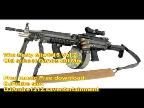 Vybz Kartel Movado BoutyKiller Gaza Gully & J.O.P War Party Mix Vol.2 DJAndre