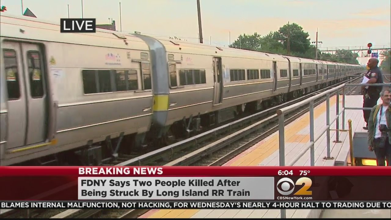 'Oh my God': Person fatally struck by LIRR train in NYC