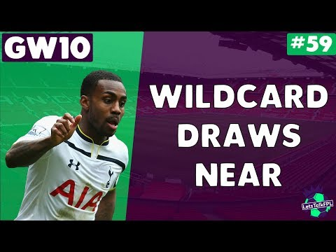 WILDCARD DRAWS NEAR | Gameweek 10 | Let's Talk Fantasy Premi