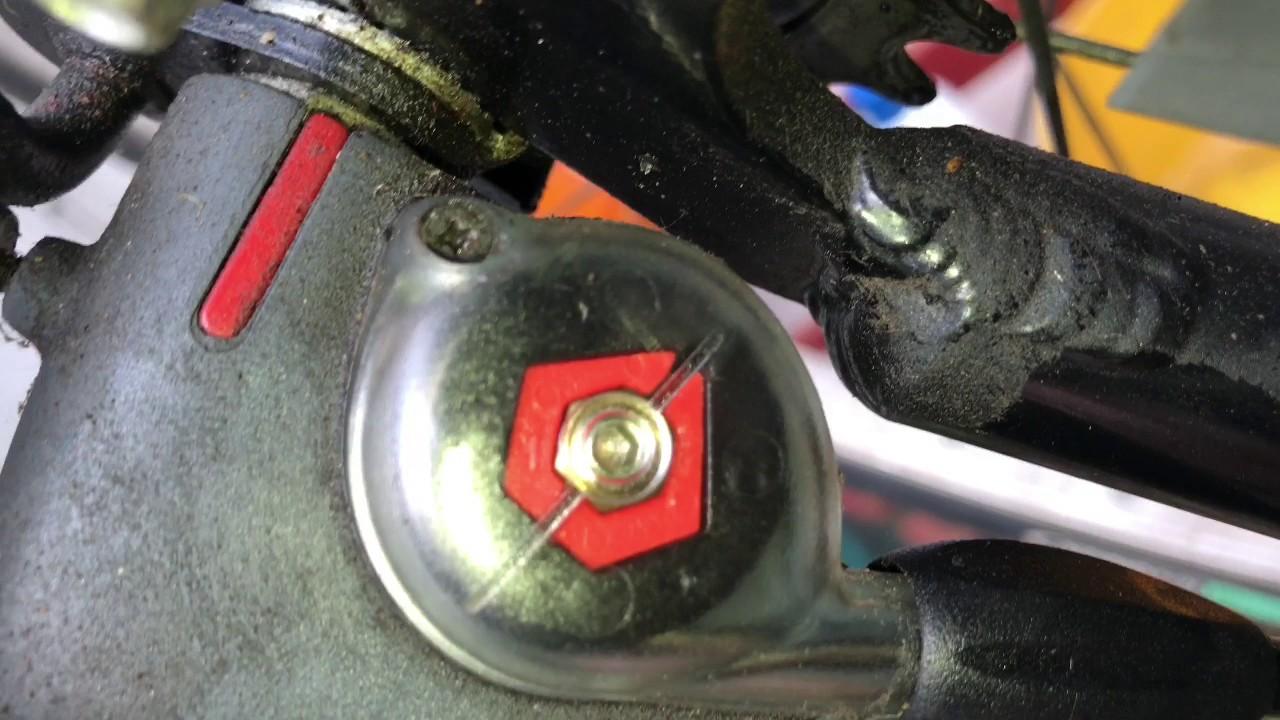 How To Adjust Gear Hub Of A Bicycle Sram Spectro S7 Hub Gear Bike Service Setup Diy