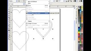 Corel Draw For Scroll Saw Pattern Heart Box