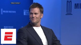 Tom Brady 'pleads the fifth' when asked if Bill Belichick and Robert Kraft appreciate him | ESPN