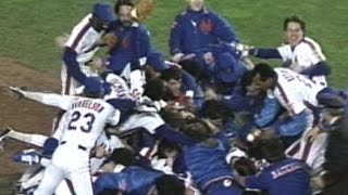 1986 WS Gm7: Mets win their 2nd World Series
