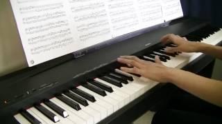 アリア/BUMP OF CHICKEN(ドラマ「仰げば尊し」主題歌)-ピアノ piano-