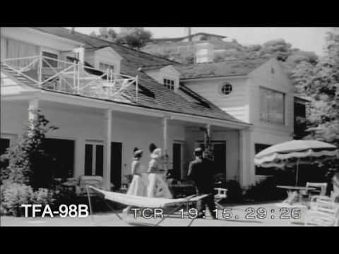 Beverly hills real estate tour 1950s youtube for Movie star homes beverly hills
