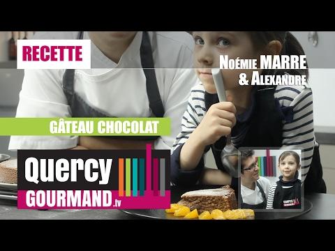 Recette : Gâteau chocolat – quercygourmand.tv