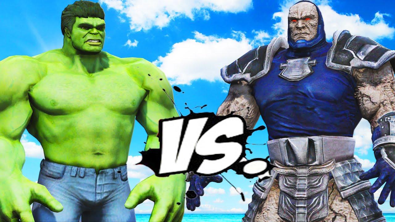 Hulk Vs Darkseid