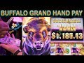 🎰 Jackpot Hand Pay 💵 on Buffalo Grand in the Bonus !