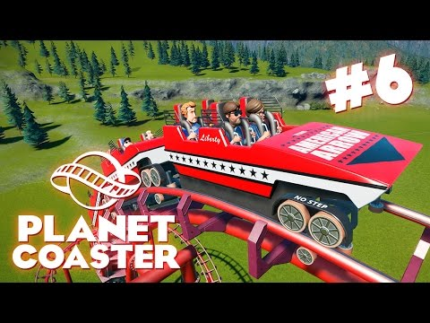 Planet Coaster | Строим новую горку! - #6