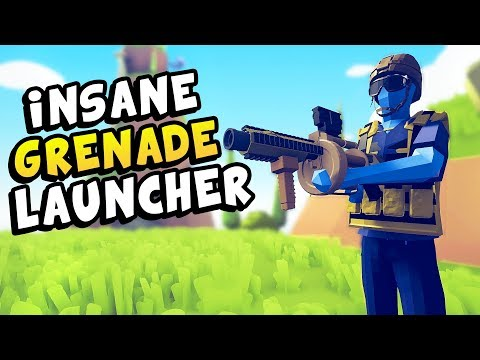 TABS | Modern Faction NEW Grenade Launcher, Flamethrower, RPG! - Totally Accurate Battle Simulator