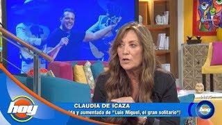 ¿Qué ocultó Claudia de Icaza sobre la vida de Luis Miguel? | Hoy