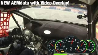 AEMdata - Video-Overlay-Demo - (Voll) für die AQ-1 Data Logger, Infinity, Serie 2 & EMS-4