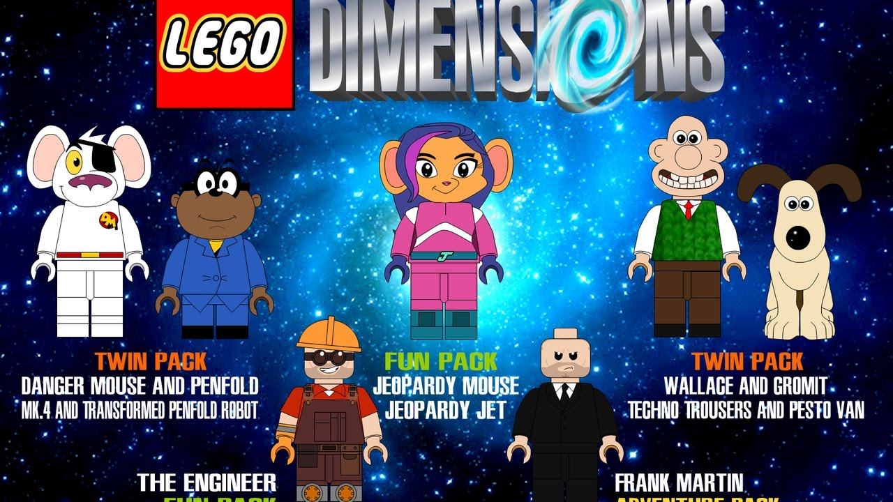 LEGO Dimensions | All Character Finishers - YouTube