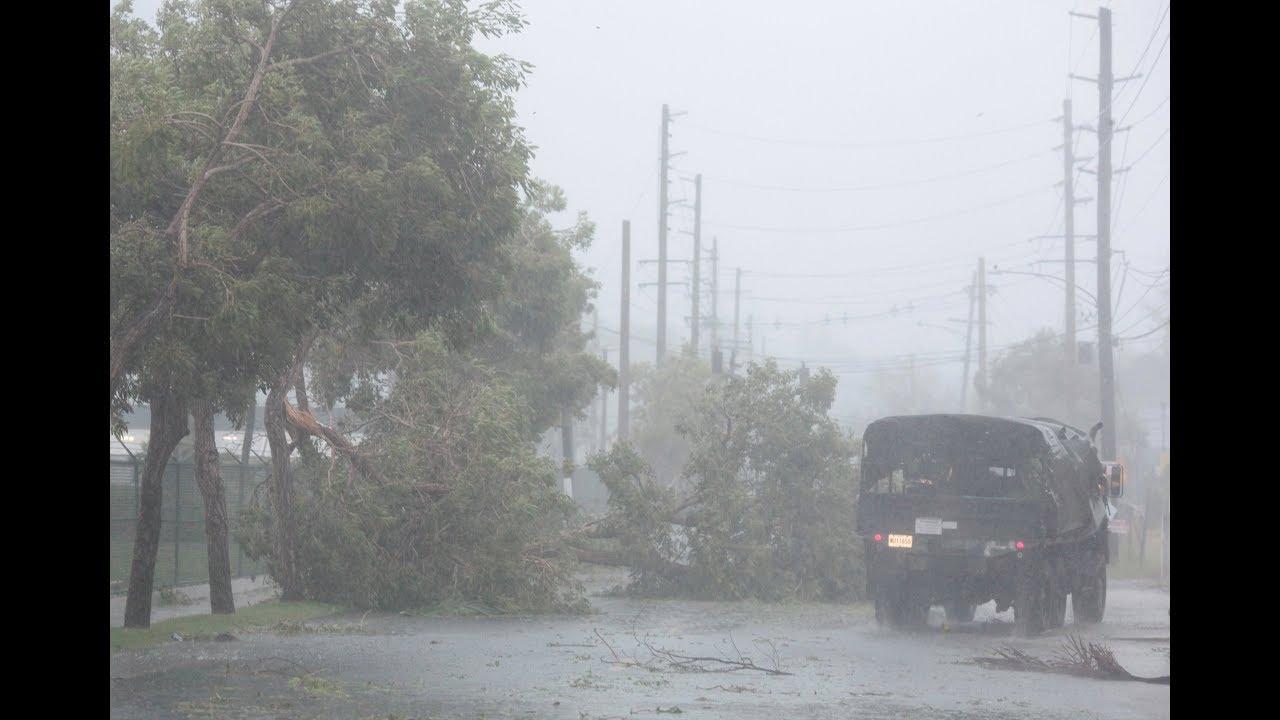 Hurricane Irma batters Caribbean, Florida braces for landfall