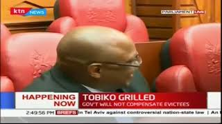 Environmental CS Koriako Tobiko Grilled by Parliamentary Environmental Committee