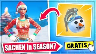 5 Sachen in Season7 -Neue Kostenlose Skins, Items Battlepass LEAKS || Fortnite Battle Royale deutsch