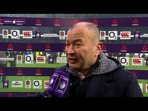 Eddie Jones speaks after England 15-24 Ireland | NatWest 6 Nations