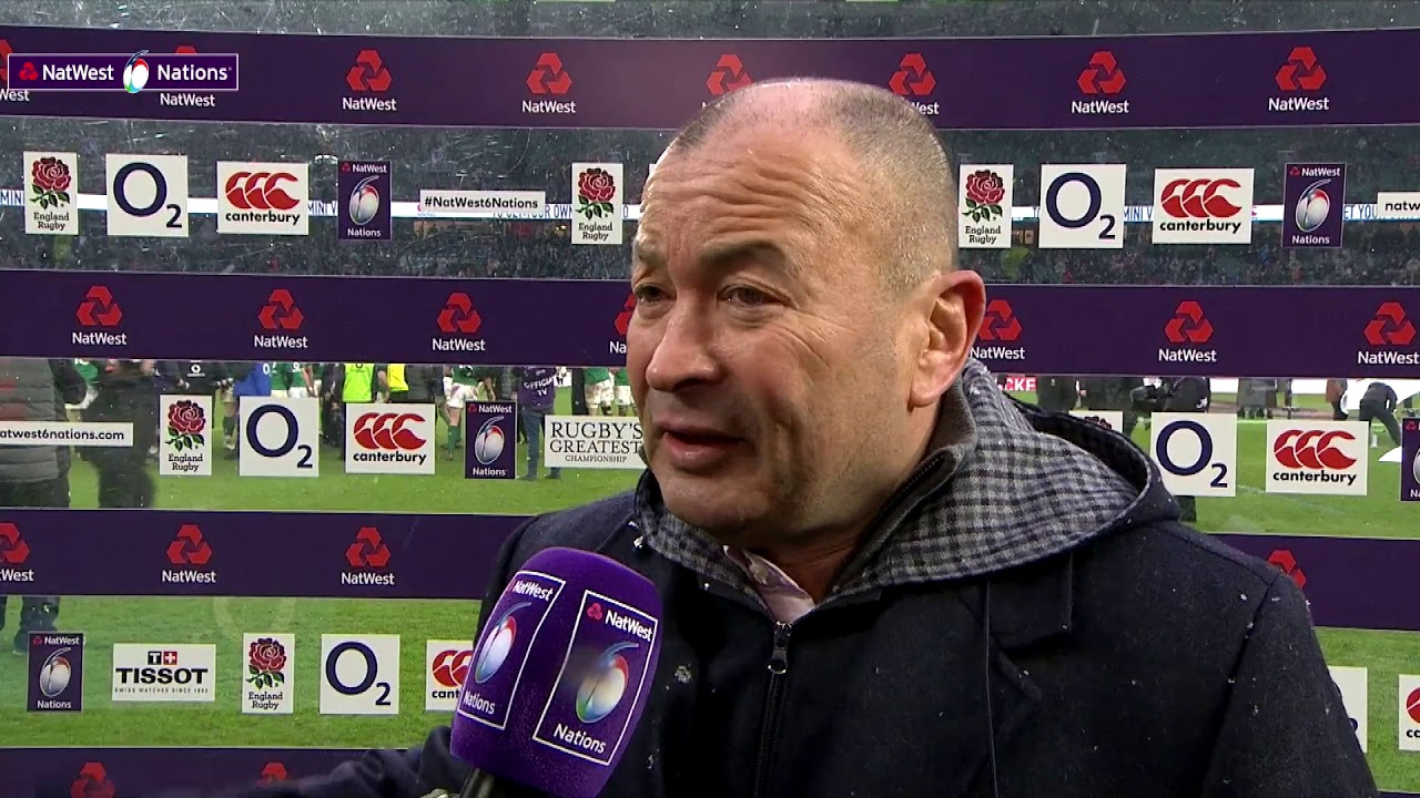c8c2ae7bab1 Eddie Jones speaks after England 15-24 Ireland   NatWest 6 Nations ...
